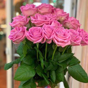15 рожевих роз Аква в Ужгороді, Мукачево фото