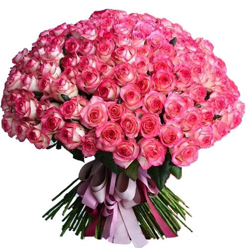 """букет 101 роза """"Джумилия"""""""
