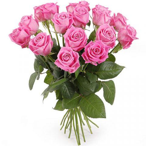 """15 роз """"Аква"""""""