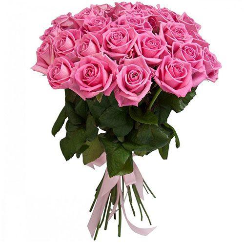 """25 роз """"Аква"""" фото"""