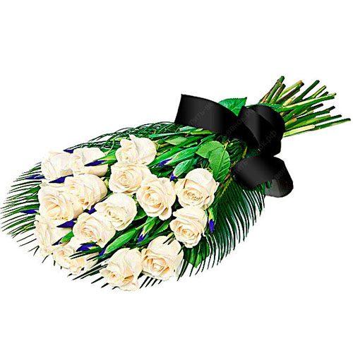фото товара Живые цветы на похороны