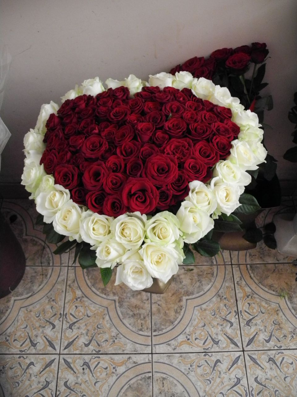 Фото товара Сердце (101 роза) в Ужгороде