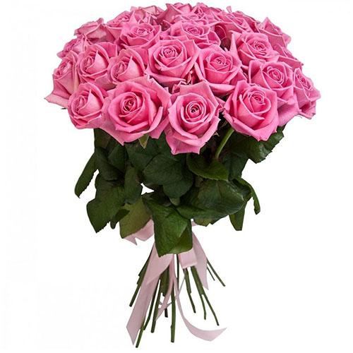 """букет 25 троянд """"Аква"""""""