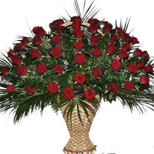 Живі похоронні квіти товар