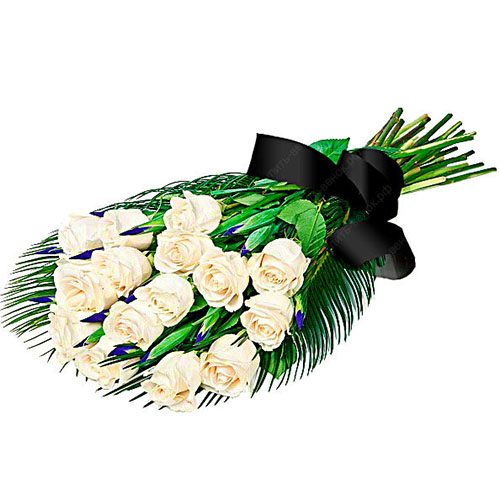 фото товару Живі квіти на похорон