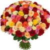 Фото товара 101 троянда мікс в Ужгороде