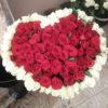 Фото товара 101 троянда серце в Ужгороде