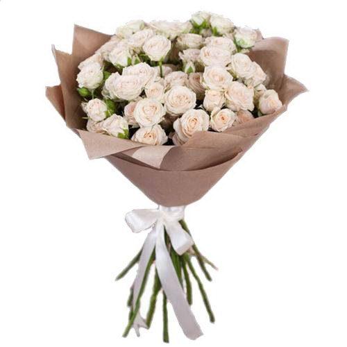 Фото товара 15 кущових троянд в Ужгороде