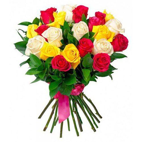 Фото товара 21 роза микс в Ужгороде