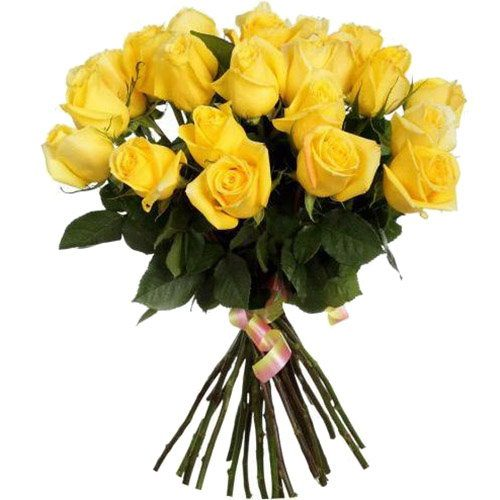 Фото товара 25 жовтих троянд в Ужгороде