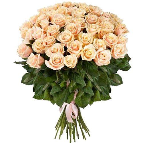 Фото товара 51 кремова троянда в Ужгороде