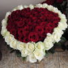 Фото товара Серця (101 троянда) в Ужгороде