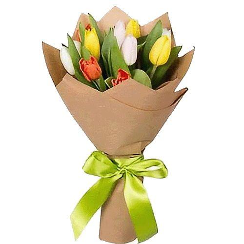 Фото товара 11 тюльпанів мікс в Ужгороде
