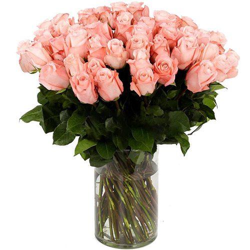 Фото товара Роза импортная розовая (поштучно) в Ужгороде