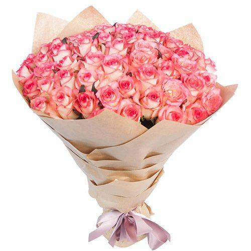 """Фото товара 51 троянда """"Джумілія"""" в Ужгороде"""
