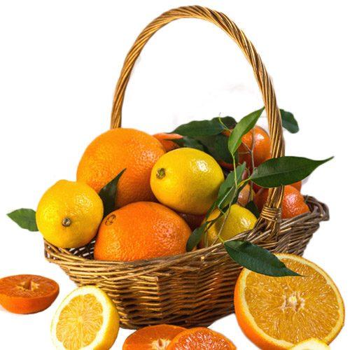 Кошик вітамінів цитруси