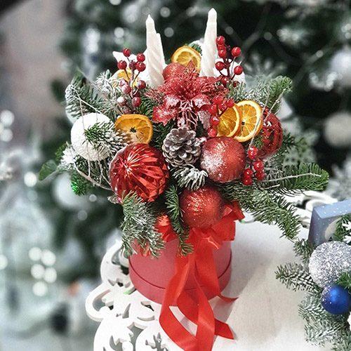 """Фото товара Коробка """"Різдвяний спалах"""" в Ужгороде"""
