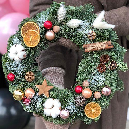Фото товара Рождественский венок в Ужгороде