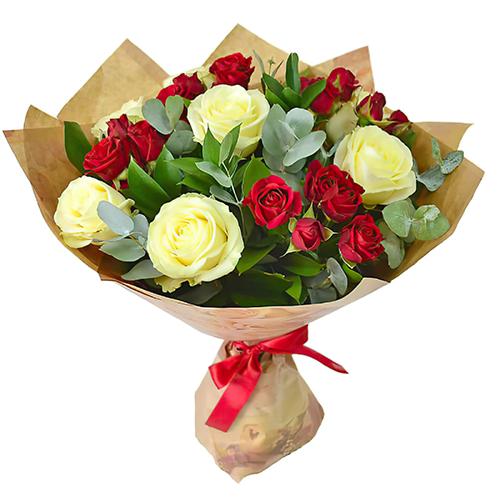 """Фото товара Букет """"Поцілунок троянди"""" в Ужгороде"""
