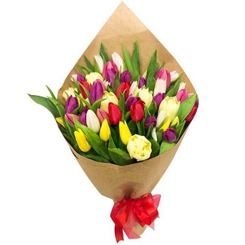 """Фото товара 45 тюльпанов """"Драже"""" в Ужгороде"""