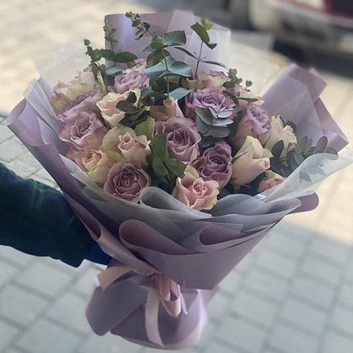 Букет Прима троянда фото