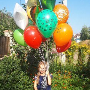 15 воздушных шариков