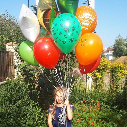 Фото товара Воздушный фонтан (15 шариков) в Ужгороде