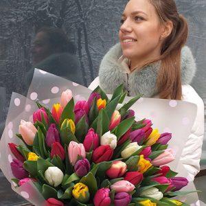 Тюльпаны в Ужгороде