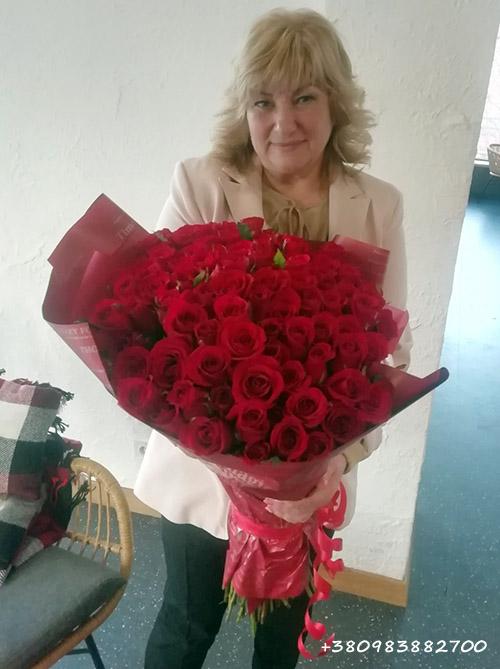 цветы на день матери в Ужгороде