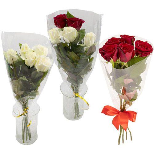 Фото товара 5 троянд в Ужгороде