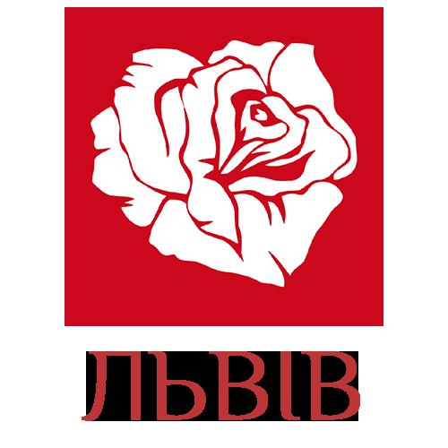 логотип магазину квітів у ЛЬВОВІ картинка