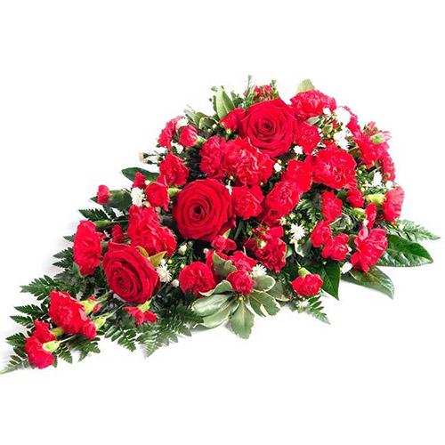Фото товара Ікебана із троянд і гвоздик в Ужгороде