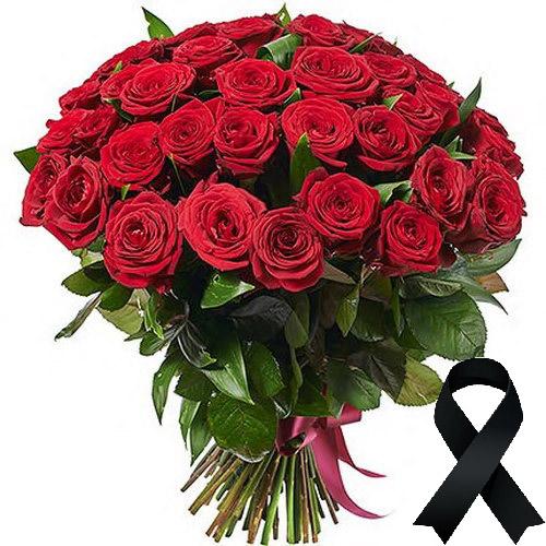 Фото товара 50 красных роз в Ужгороде