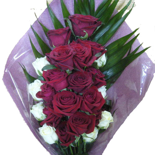 "Фото товара Букет ""Ореол"" 22 троянди в Ужгороде"